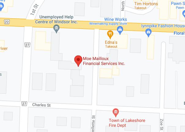 Moe Mailloux Financial Services, Belle River - Google Maps